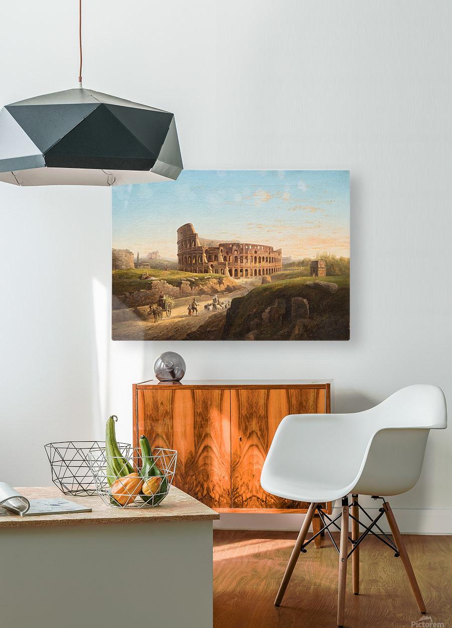 Vista del Coliseo  HD Metal print with Floating Frame on Back