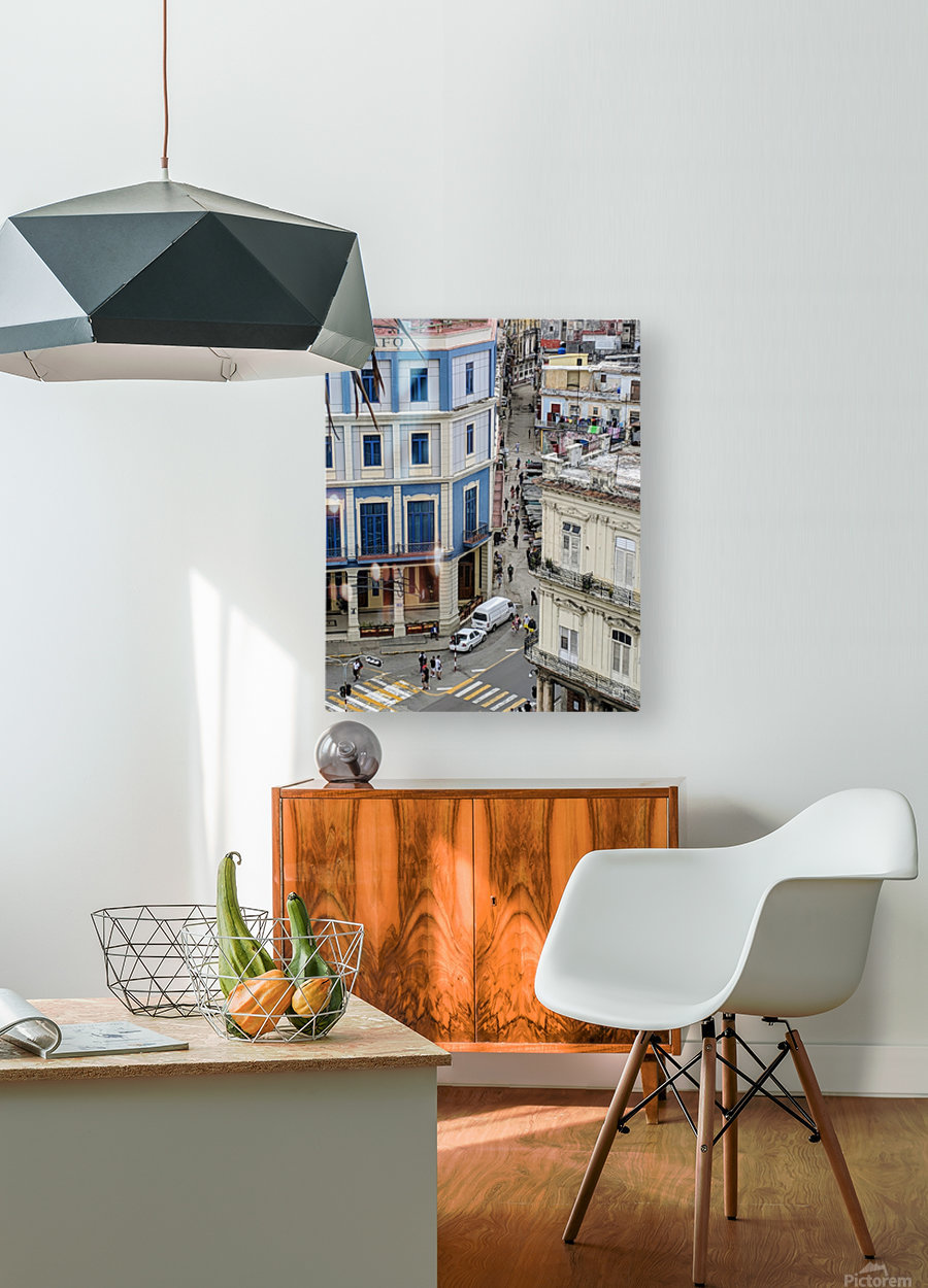Old Havana  HD Metal print with Floating Frame on Back