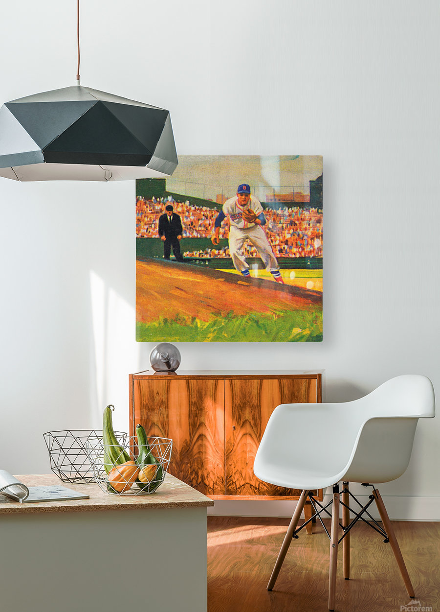 Fenway Park Boston Red Sox Art_Red Sox Posters  HD Metal print with Floating Frame on Back