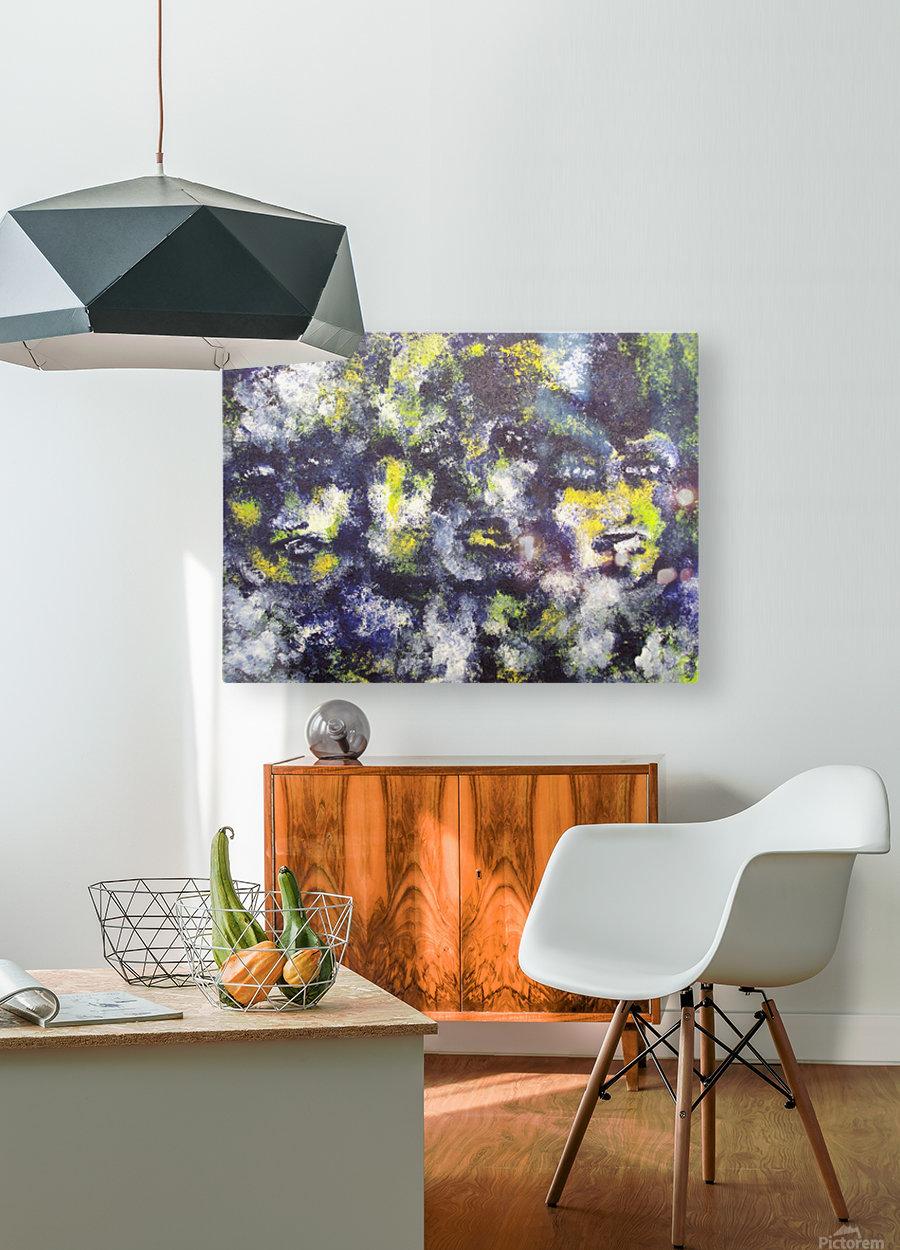 Disbonded  HD Metal print with Floating Frame on Back