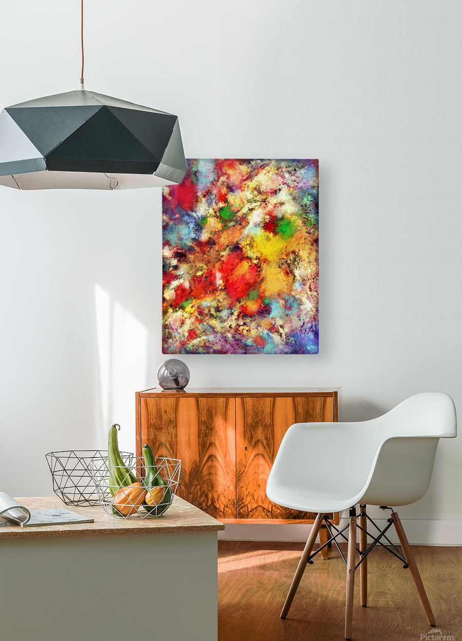 Arc  HD Metal print with Floating Frame on Back