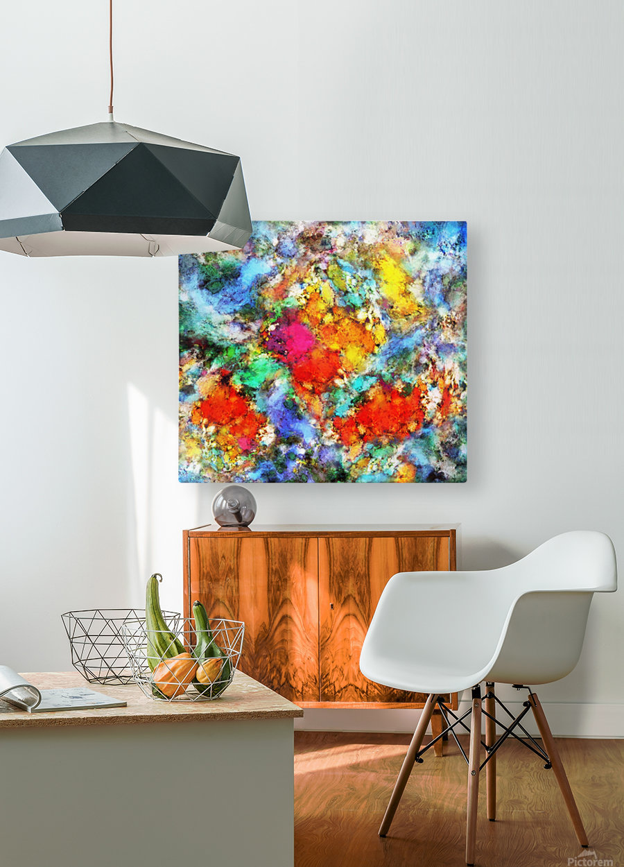 Beacon  HD Metal print with Floating Frame on Back