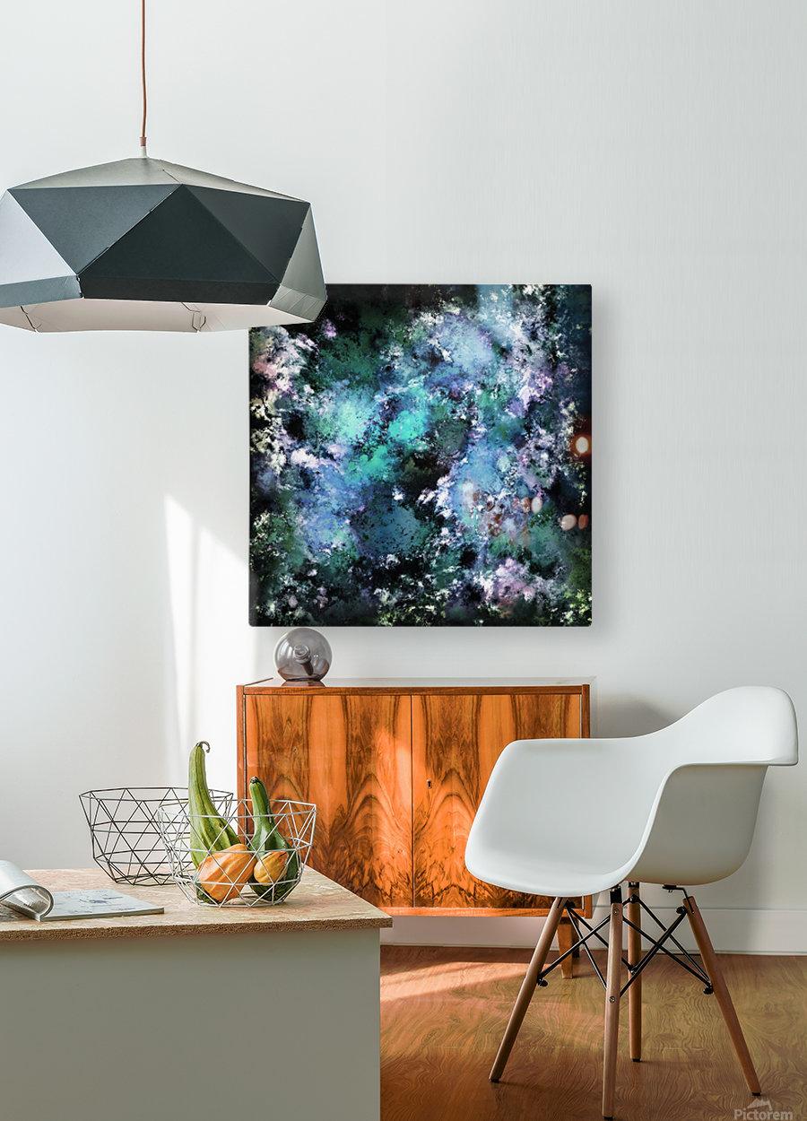 Cauldron  HD Metal print with Floating Frame on Back