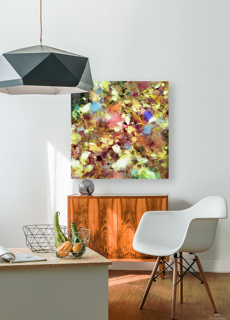 Discarded blooms  HD Metal print with Floating Frame on Back