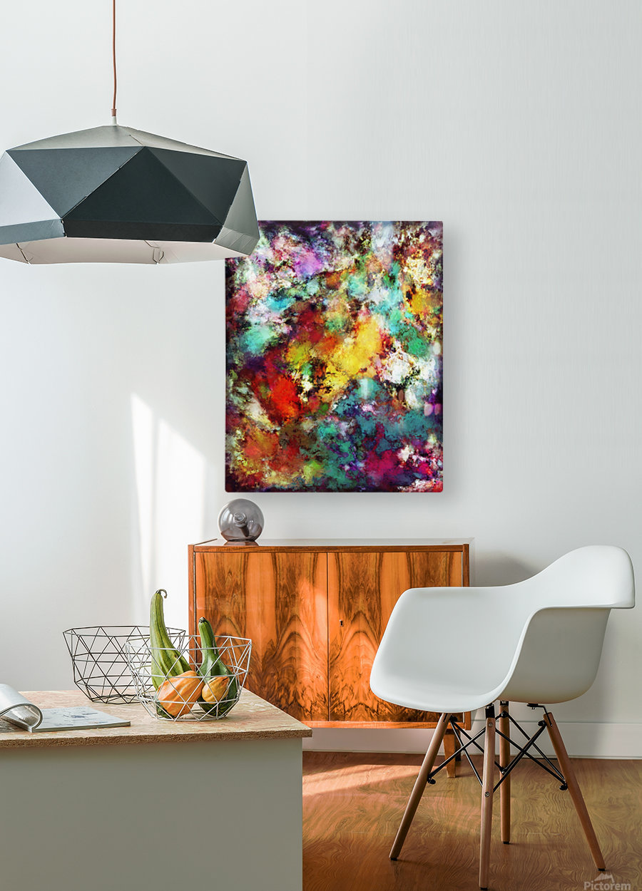 Fuse  HD Metal print with Floating Frame on Back