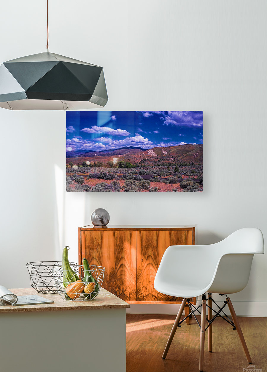 Painted Hills  HD Metal print with Floating Frame on Back