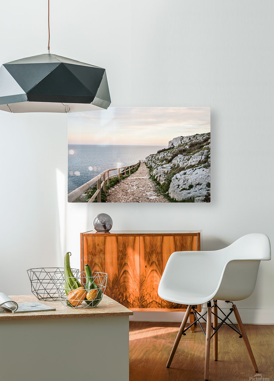 APULIA  HD Metal print with Floating Frame on Back