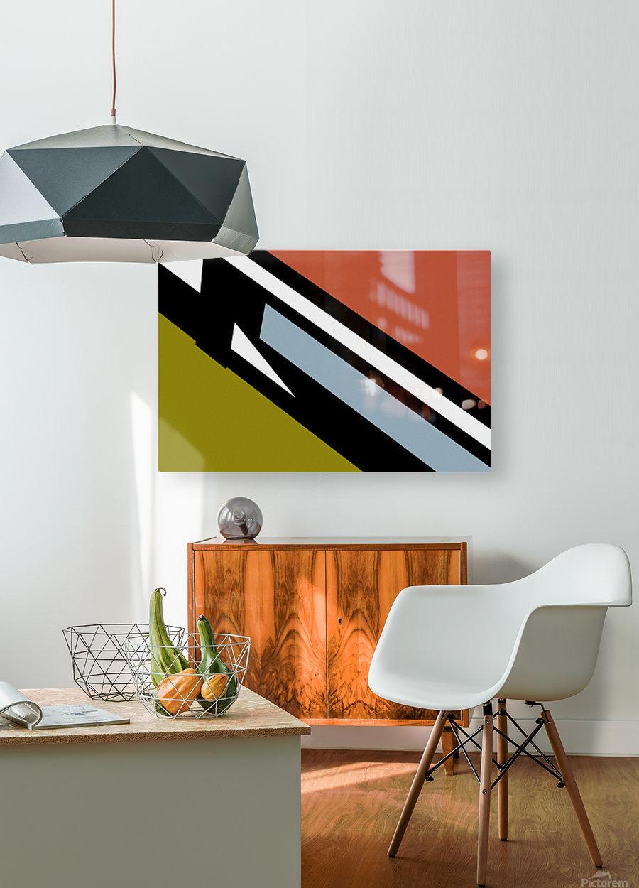 Bridge  X  HD Metal print with Floating Frame on Back