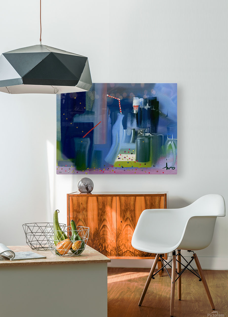 0312  HD Metal print with Floating Frame on Back
