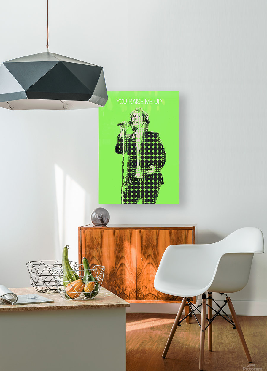 You Raise Me Up    Josh Groban  HD Metal print with Floating Frame on Back