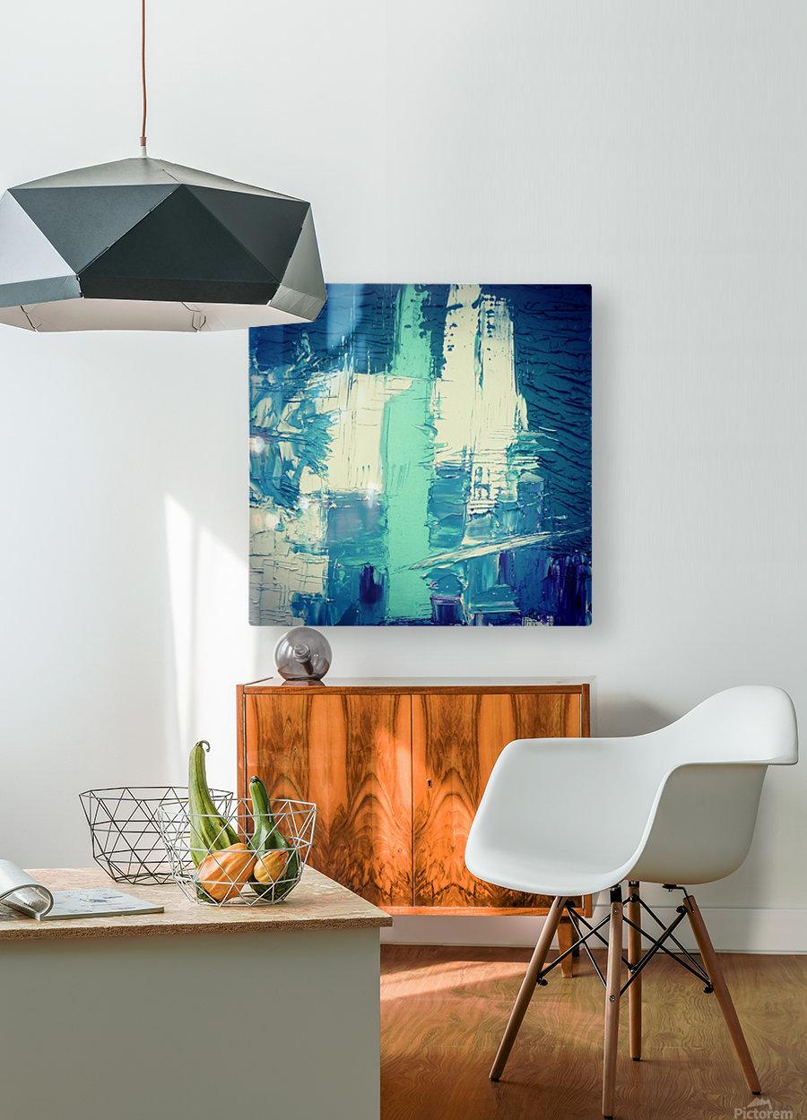 atlantis eternal  HD Metal print with Floating Frame on Back