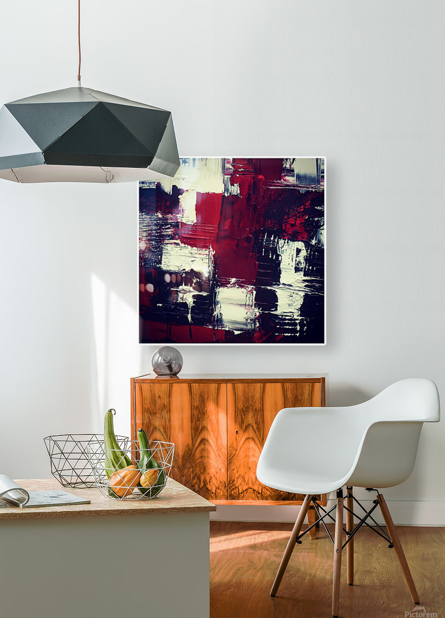 reinventing cassiopeia  HD Metal print with Floating Frame on Back