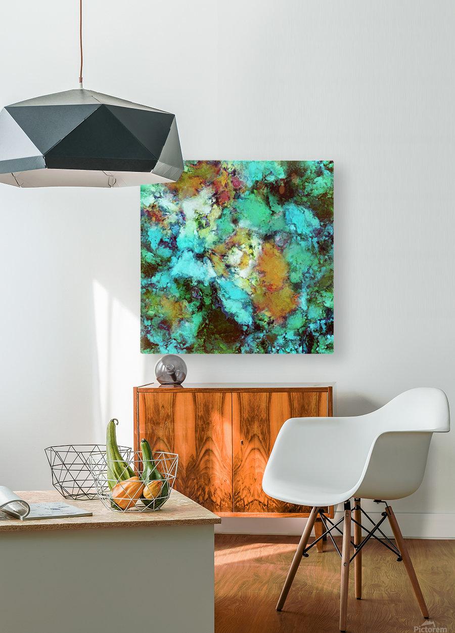 Regeneration  HD Metal print with Floating Frame on Back