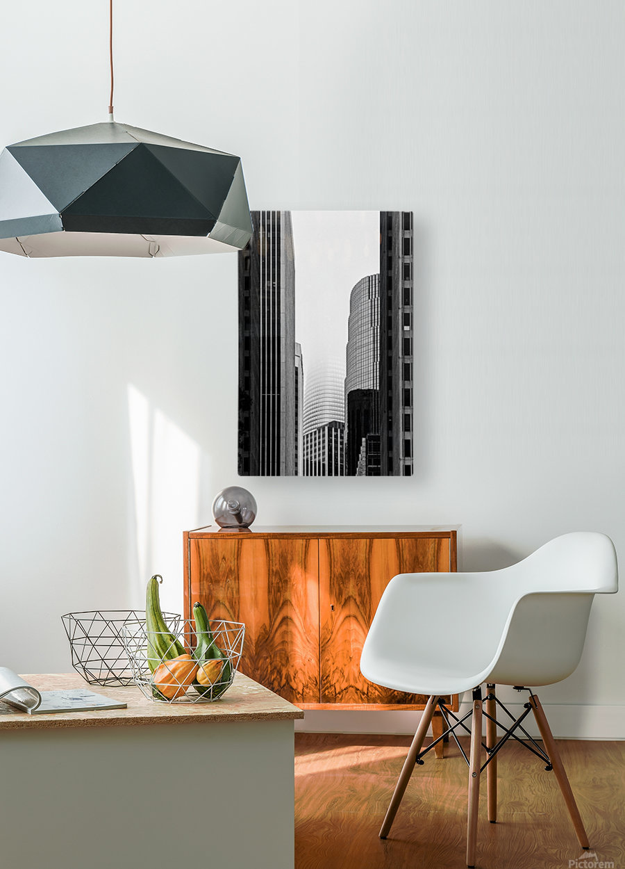 Vanishing Tower  HD Metal print with Floating Frame on Back