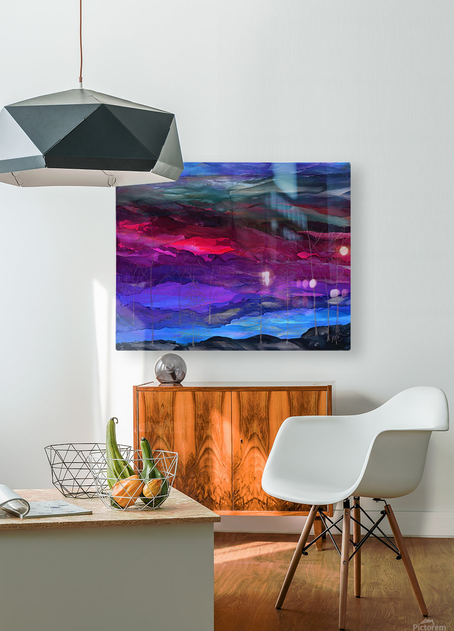 Everything is Quiet  HD Metal print with Floating Frame on Back