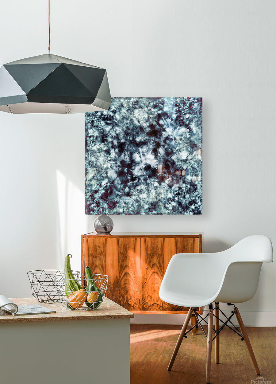 Smokescreen  HD Metal print with Floating Frame on Back