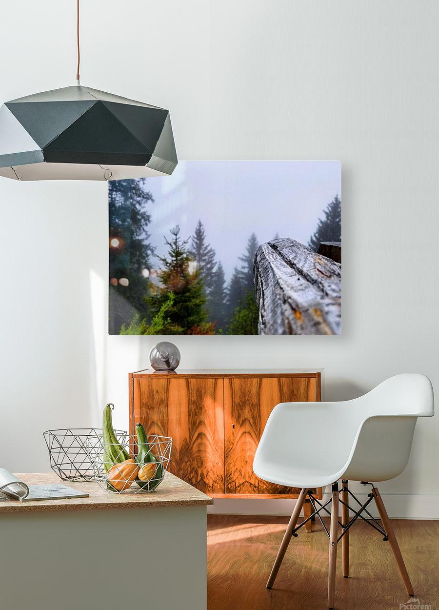 Mt Rigi  HD Metal print with Floating Frame on Back
