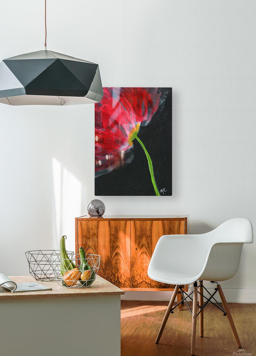 Fantastical Flower  HD Metal print with Floating Frame on Back