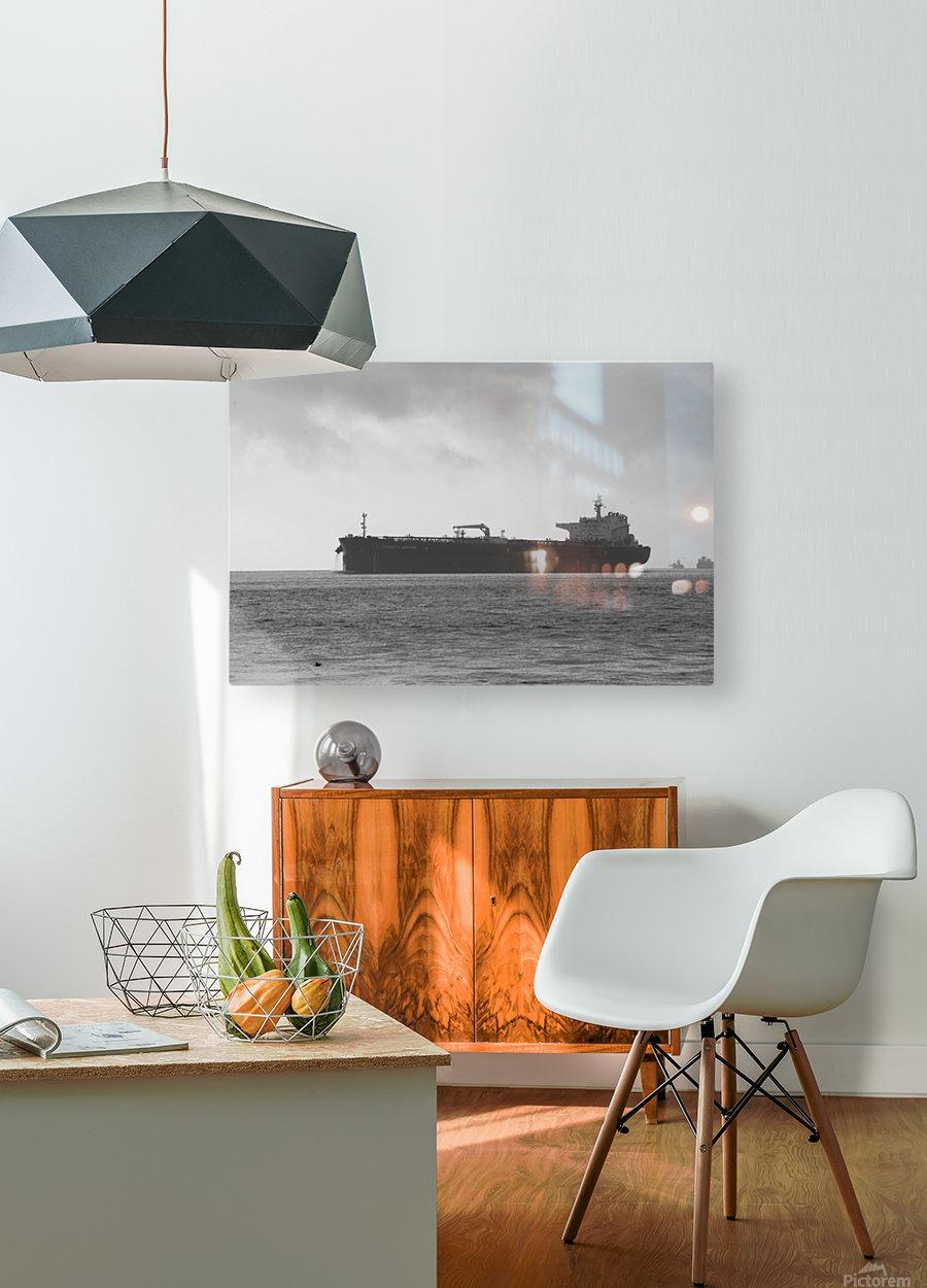 Tanker  HD Metal print with Floating Frame on Back