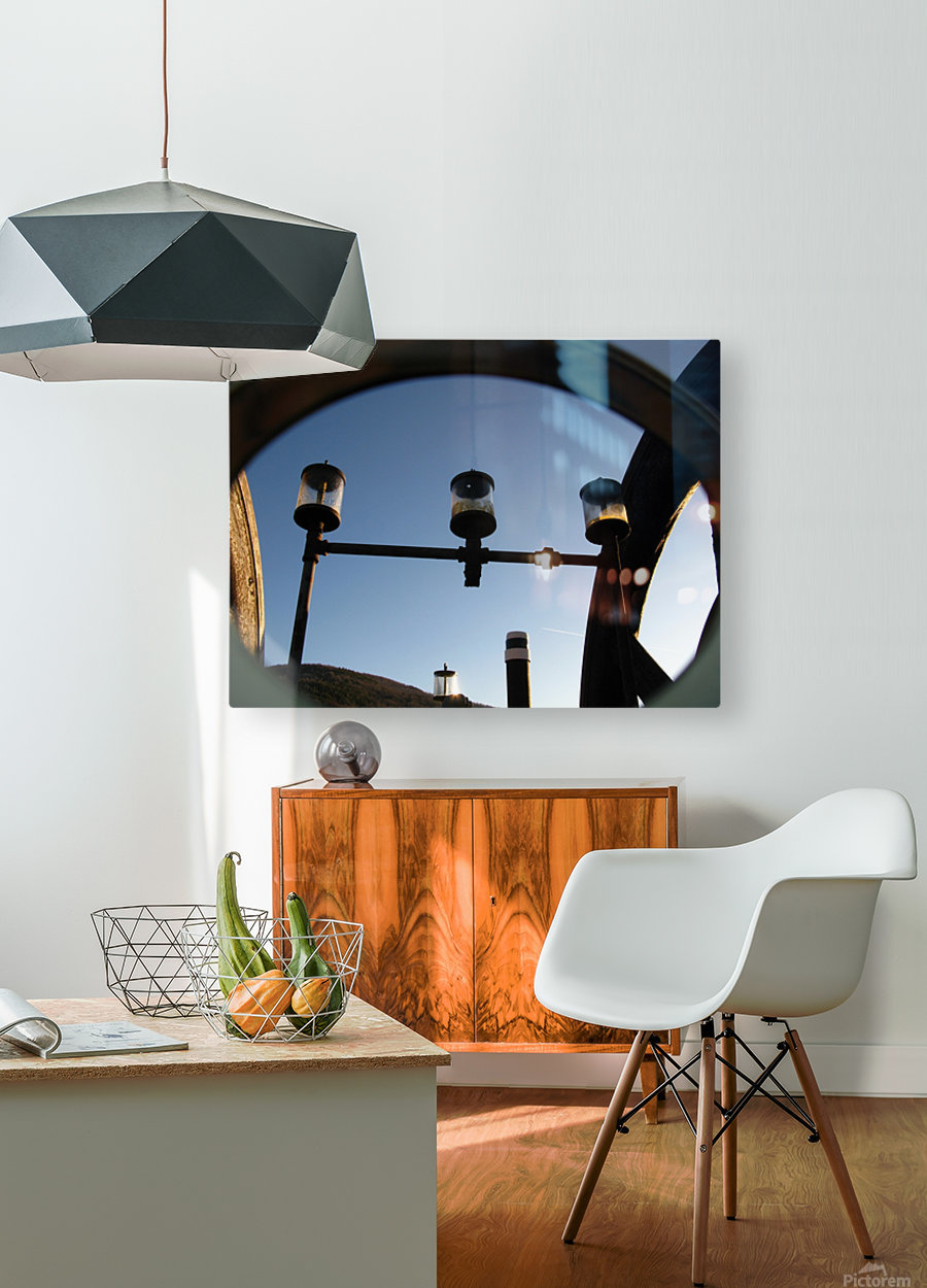 Perculating Dreams  HD Metal print with Floating Frame on Back