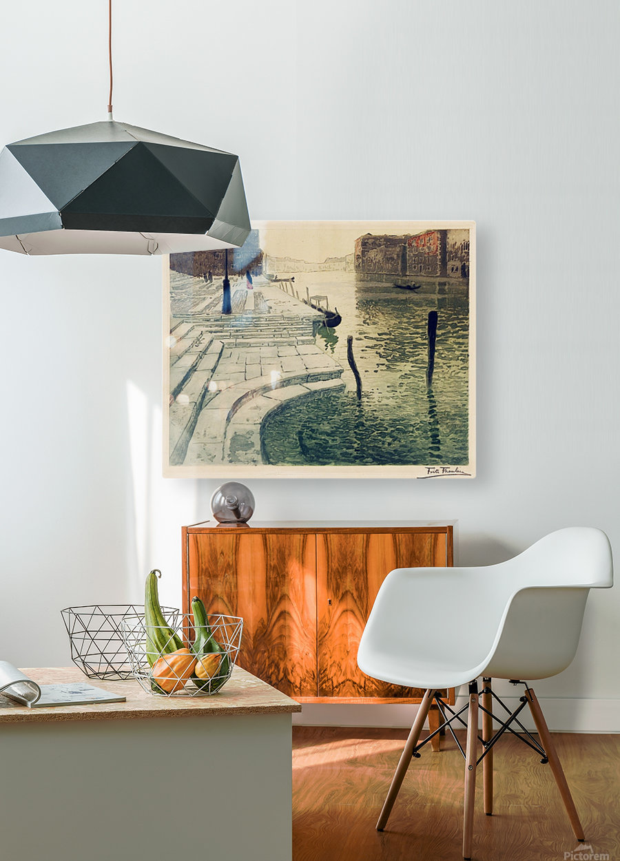 Marmortrappen  HD Metal print with Floating Frame on Back