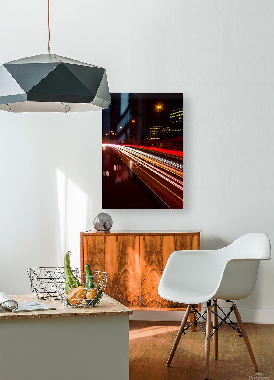 DVP Spectrum 3  HD Metal print with Floating Frame on Back