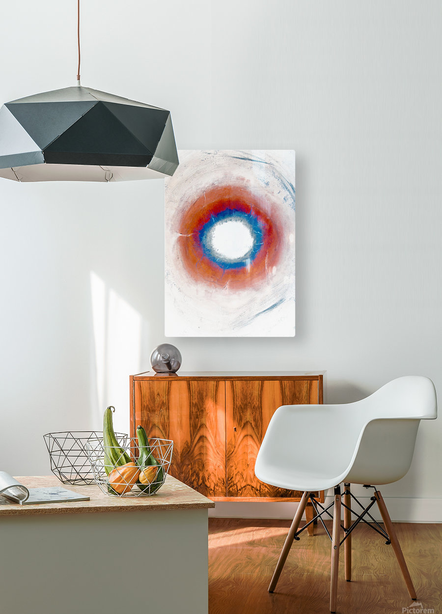 Glimpse of Black Hole No.4  HD Metal print with Floating Frame on Back