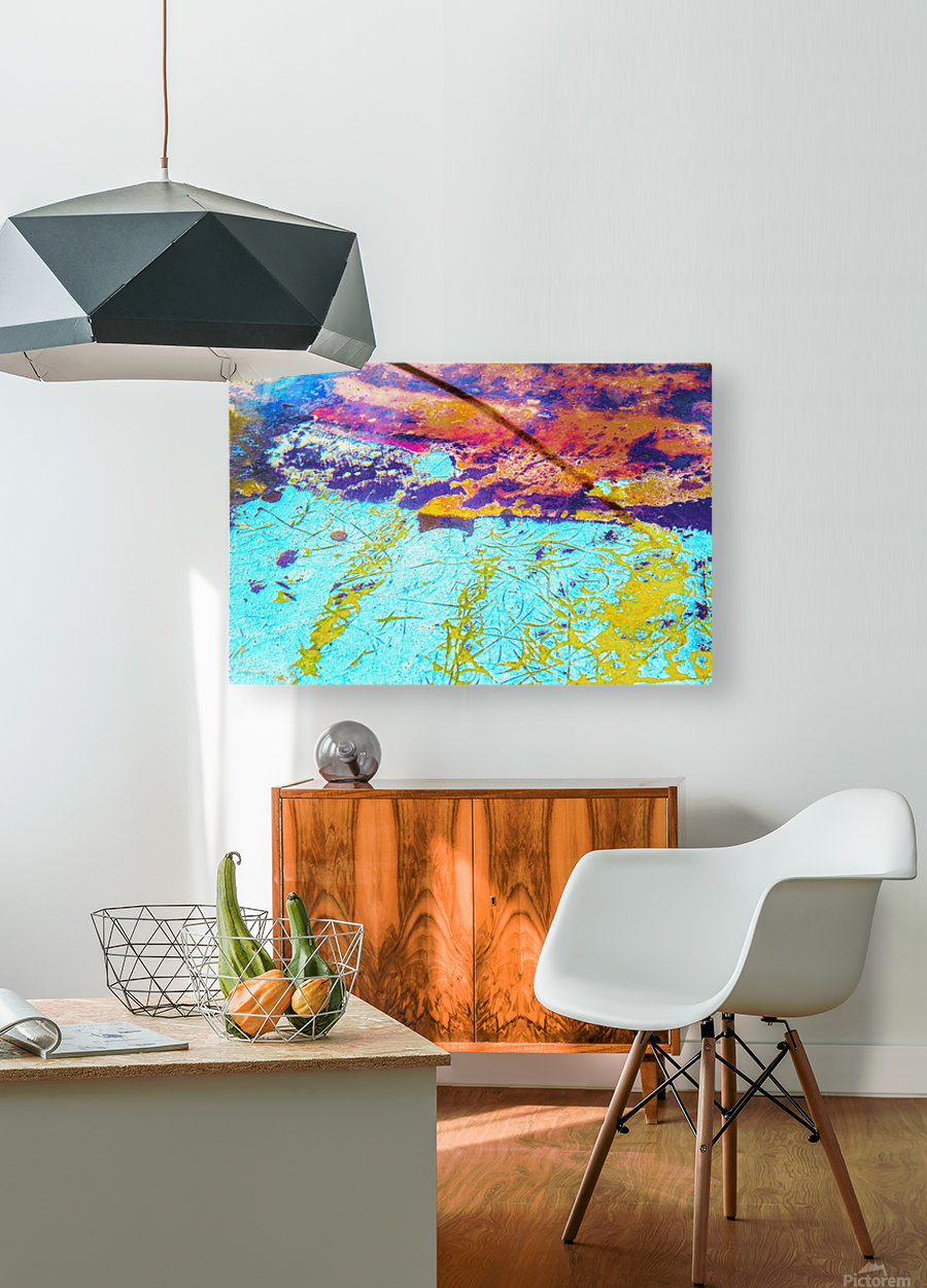 Boat LXXIX  HD Metal print with Floating Frame on Back