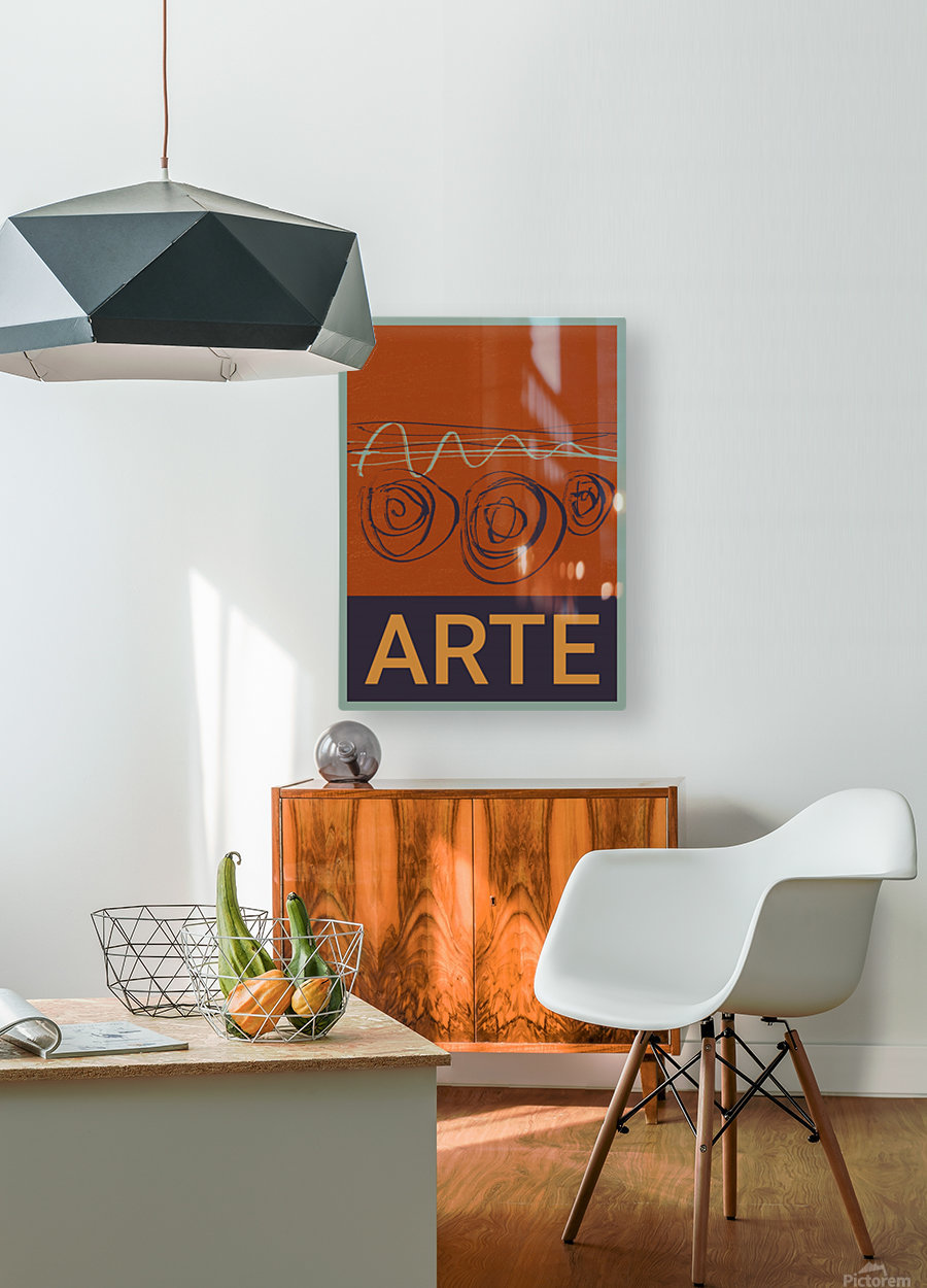 ARTE -7   HD Metal print with Floating Frame on Back