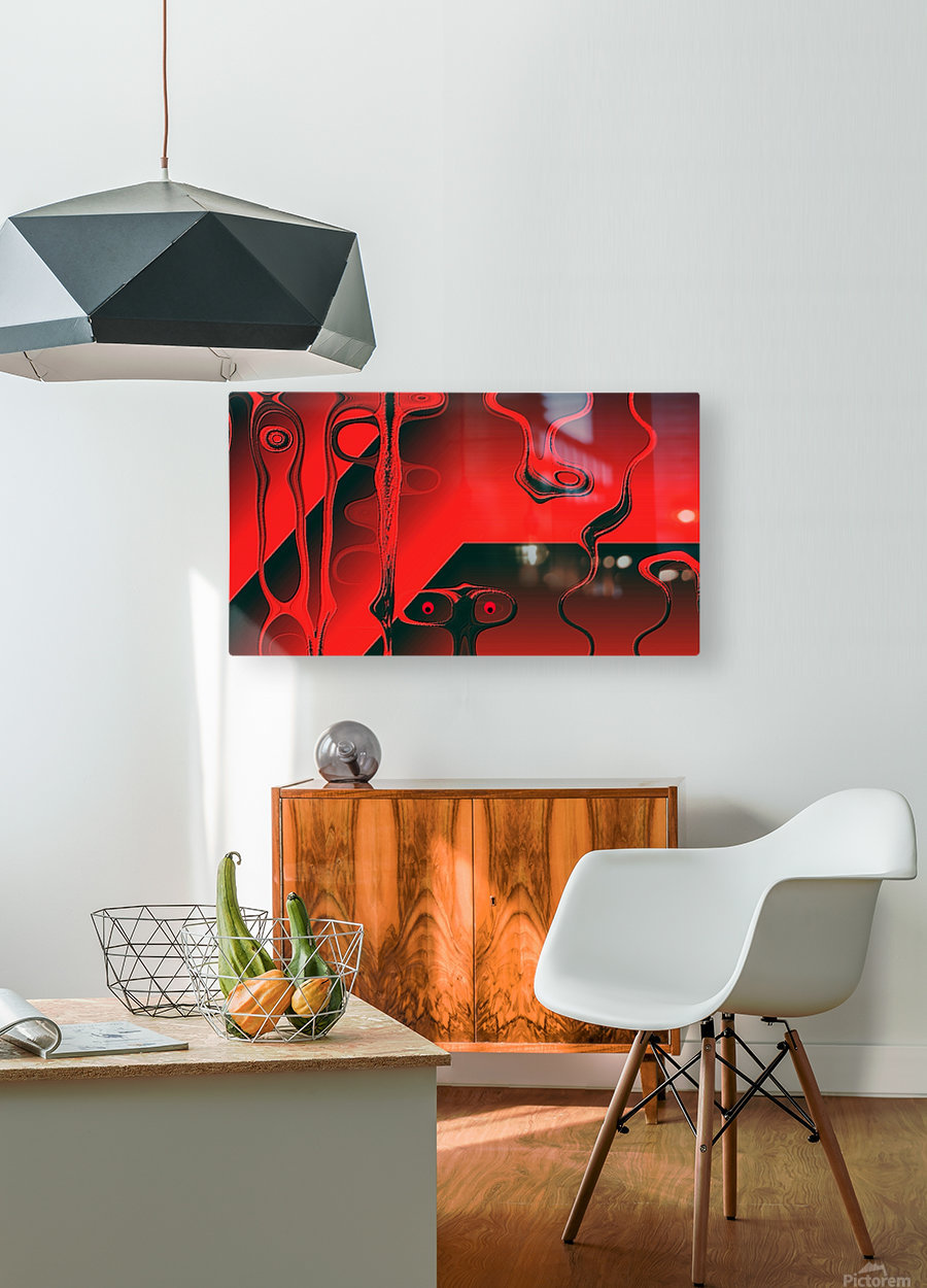 Fantaisie Fantasy  HD Metal print with Floating Frame on Back