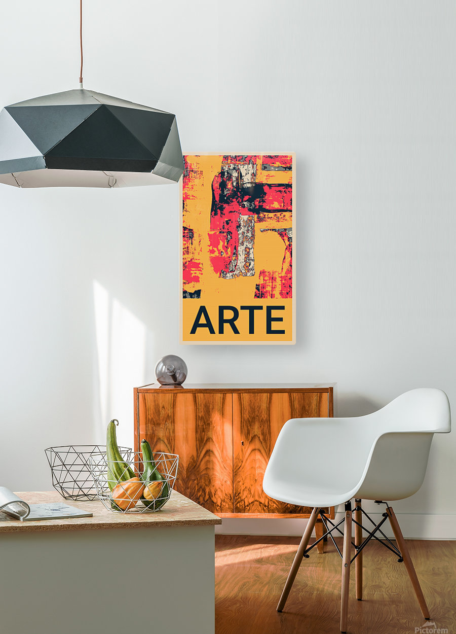 ARTE -17   HD Metal print with Floating Frame on Back