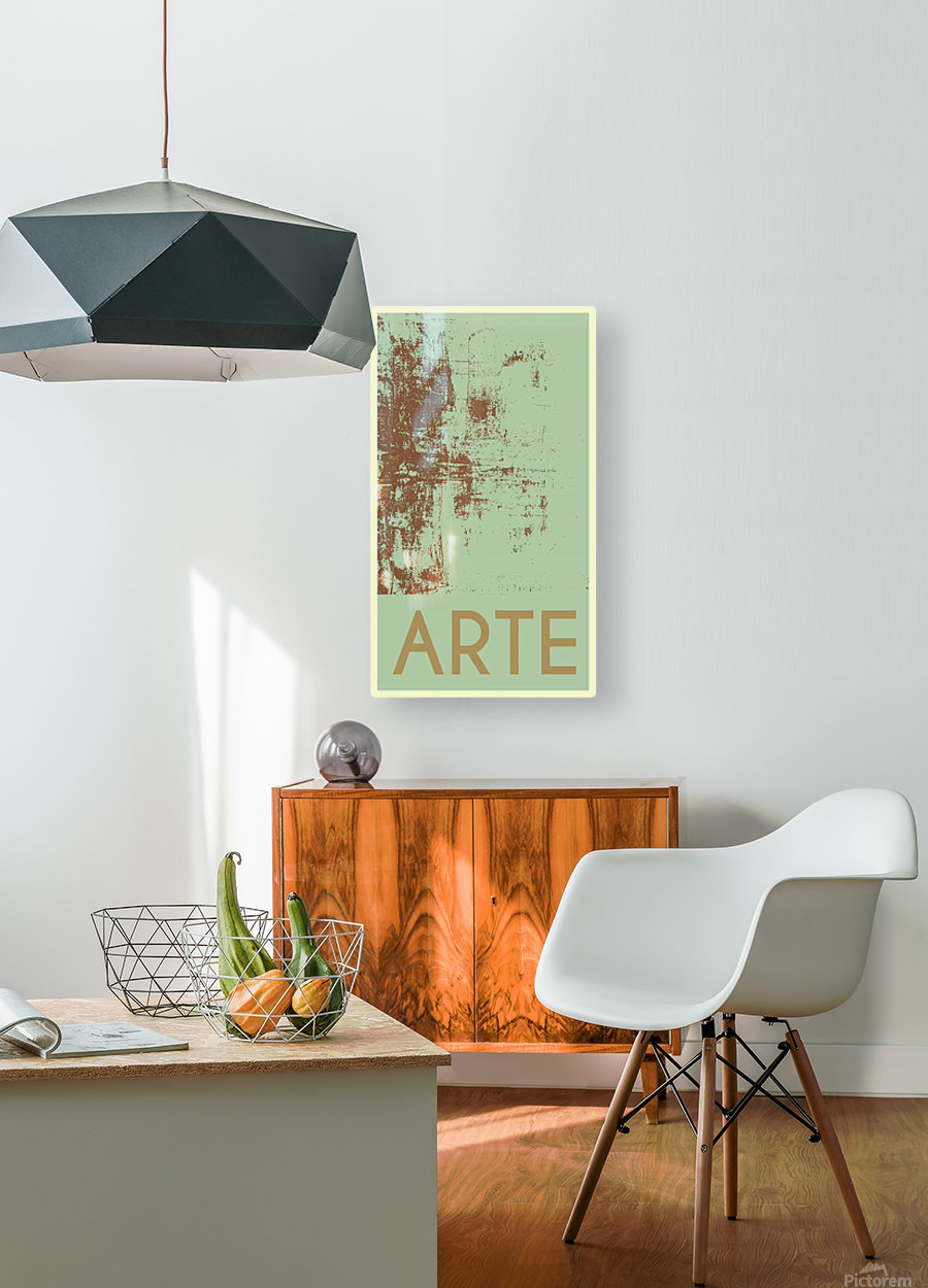 ARTE -25   HD Metal print with Floating Frame on Back
