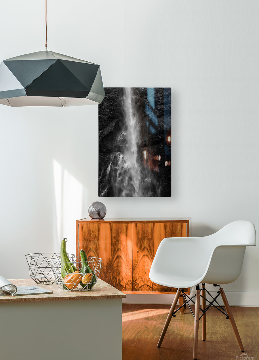 Multnomah 3  HD Metal print with Floating Frame on Back