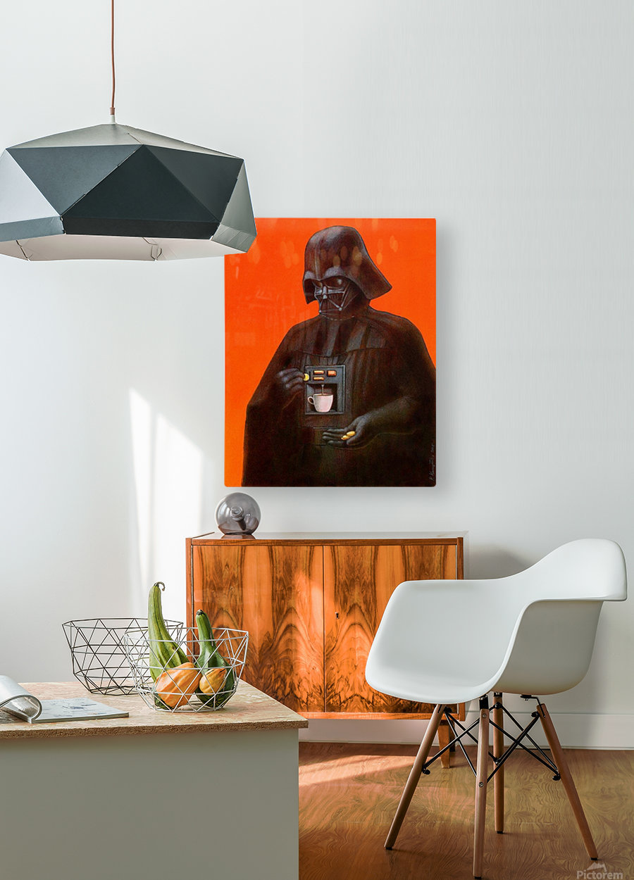 Awaken  HD Metal print with Floating Frame on Back