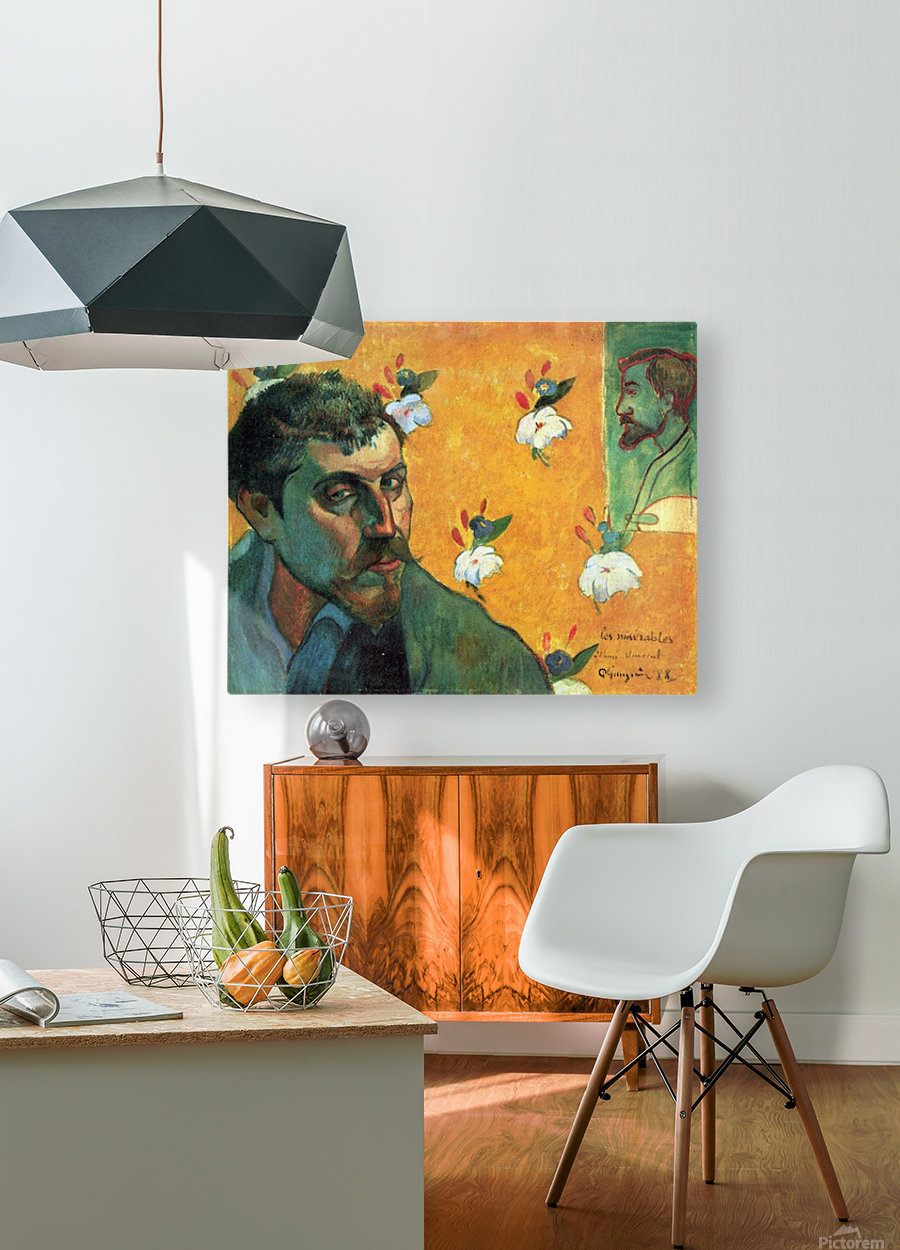 Les Miserables by Gauguin  HD Metal print with Floating Frame on Back