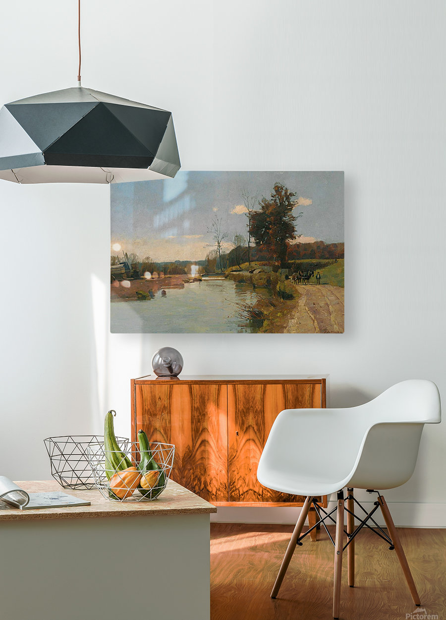 Bad Liebenzell  HD Metal print with Floating Frame on Back