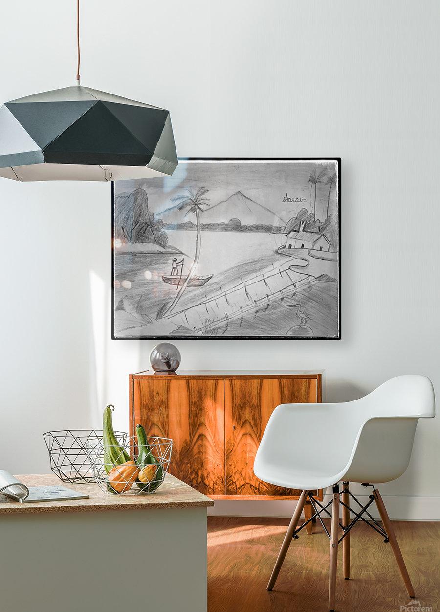 Vintage_1  HD Metal print with Floating Frame on Back