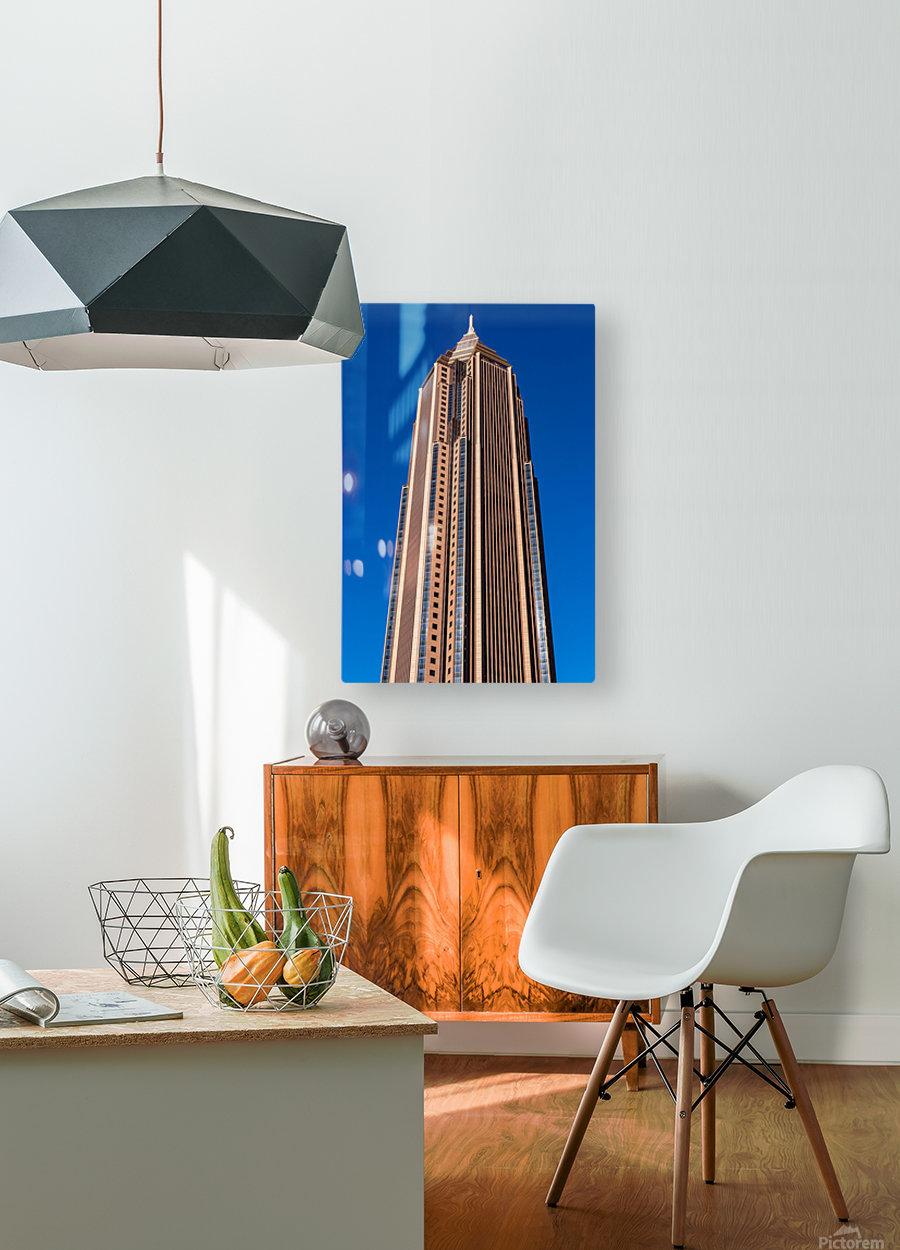 Bank of America Building   Atlanta GA 6630  HD Metal print with Floating Frame on Back