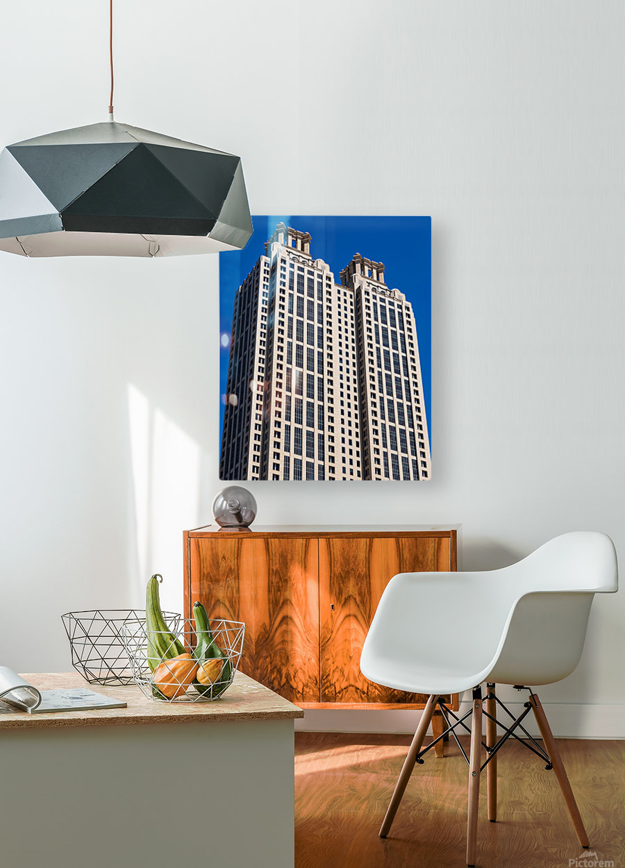 191 Peachtree Tower   Atlanta GA 6969  HD Metal print with Floating Frame on Back