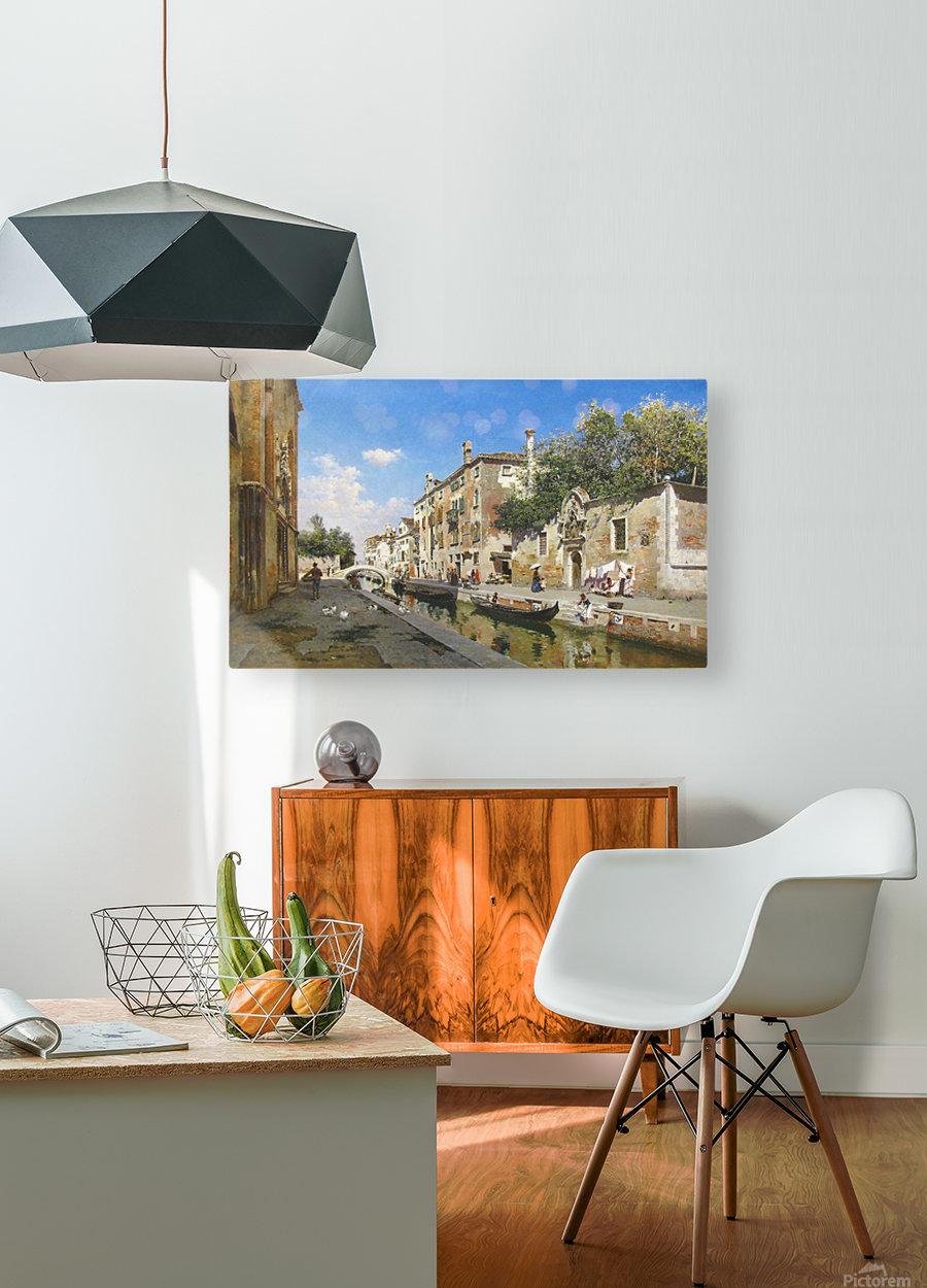 Canale San Giuseppe, Venezia  HD Metal print with Floating Frame on Back