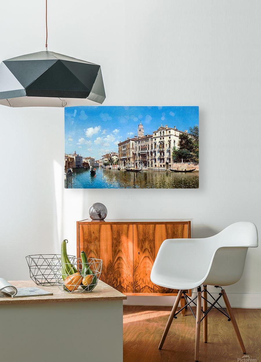 Palazo Cavalli-Franchetti, Venezia  HD Metal print with Floating Frame on Back