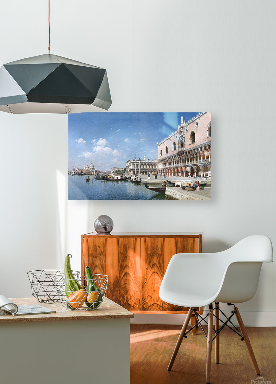 Grand Canal, Venice  HD Metal print with Floating Frame on Back
