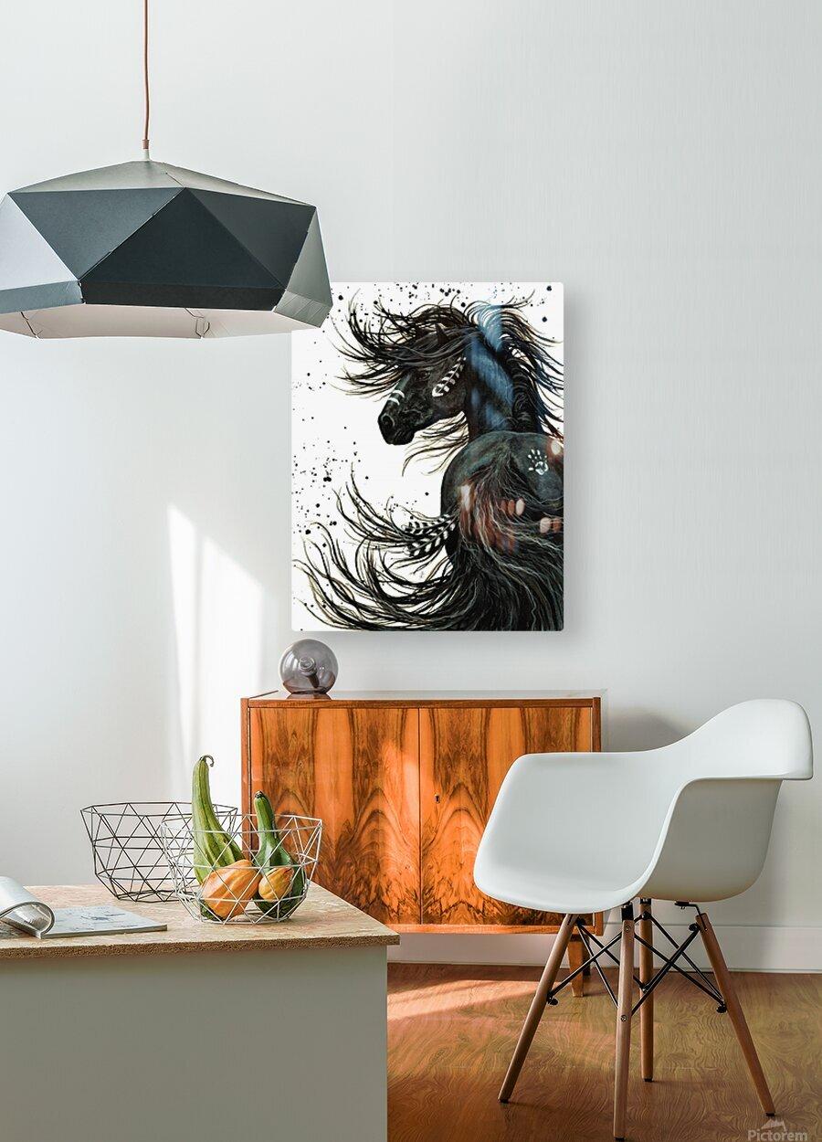 Spirit Horse   HD Metal print with Floating Frame on Back