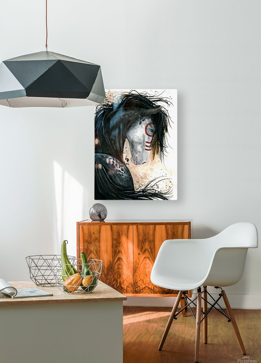 Appalossa Painted Horse  HD Metal print with Floating Frame on Back