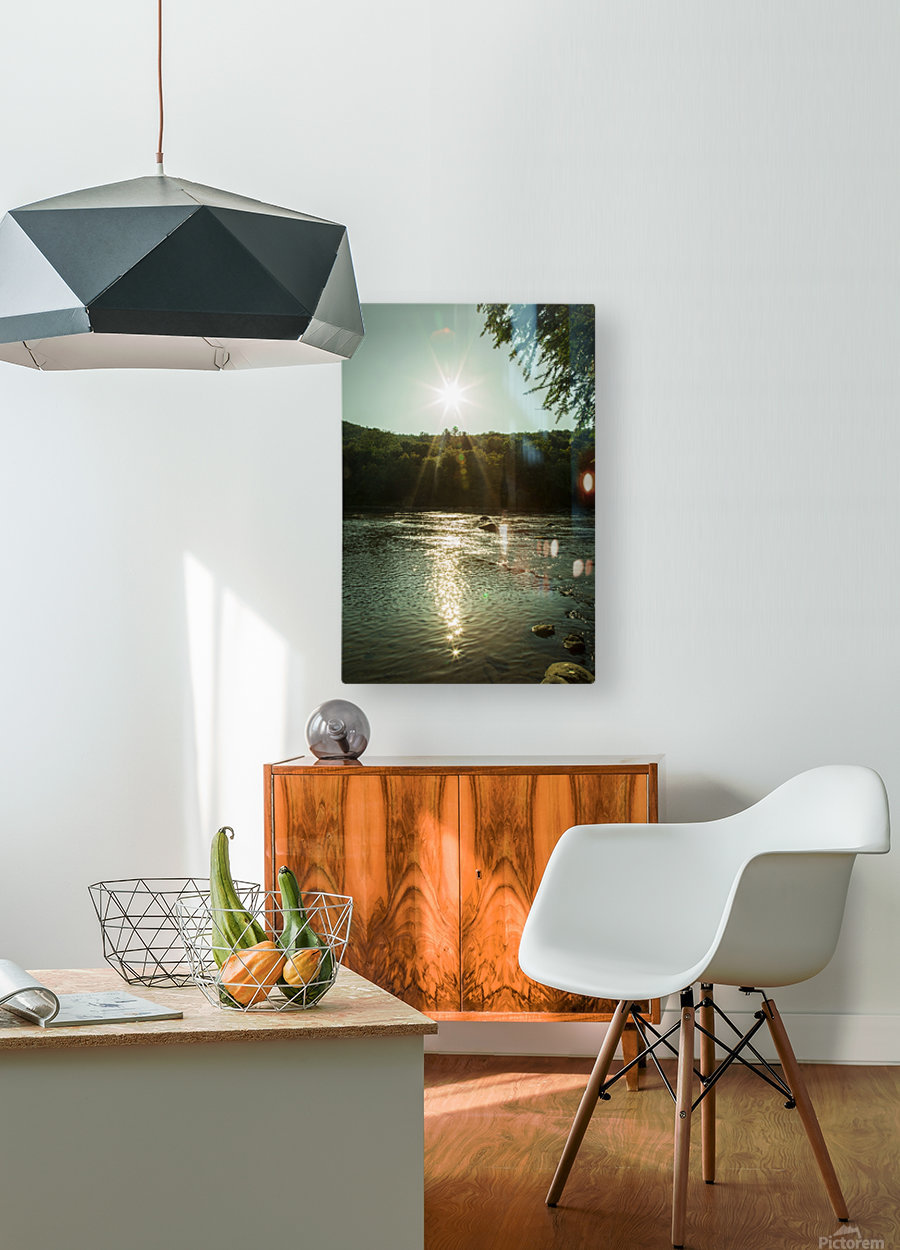 Sunlight  HD Metal print with Floating Frame on Back