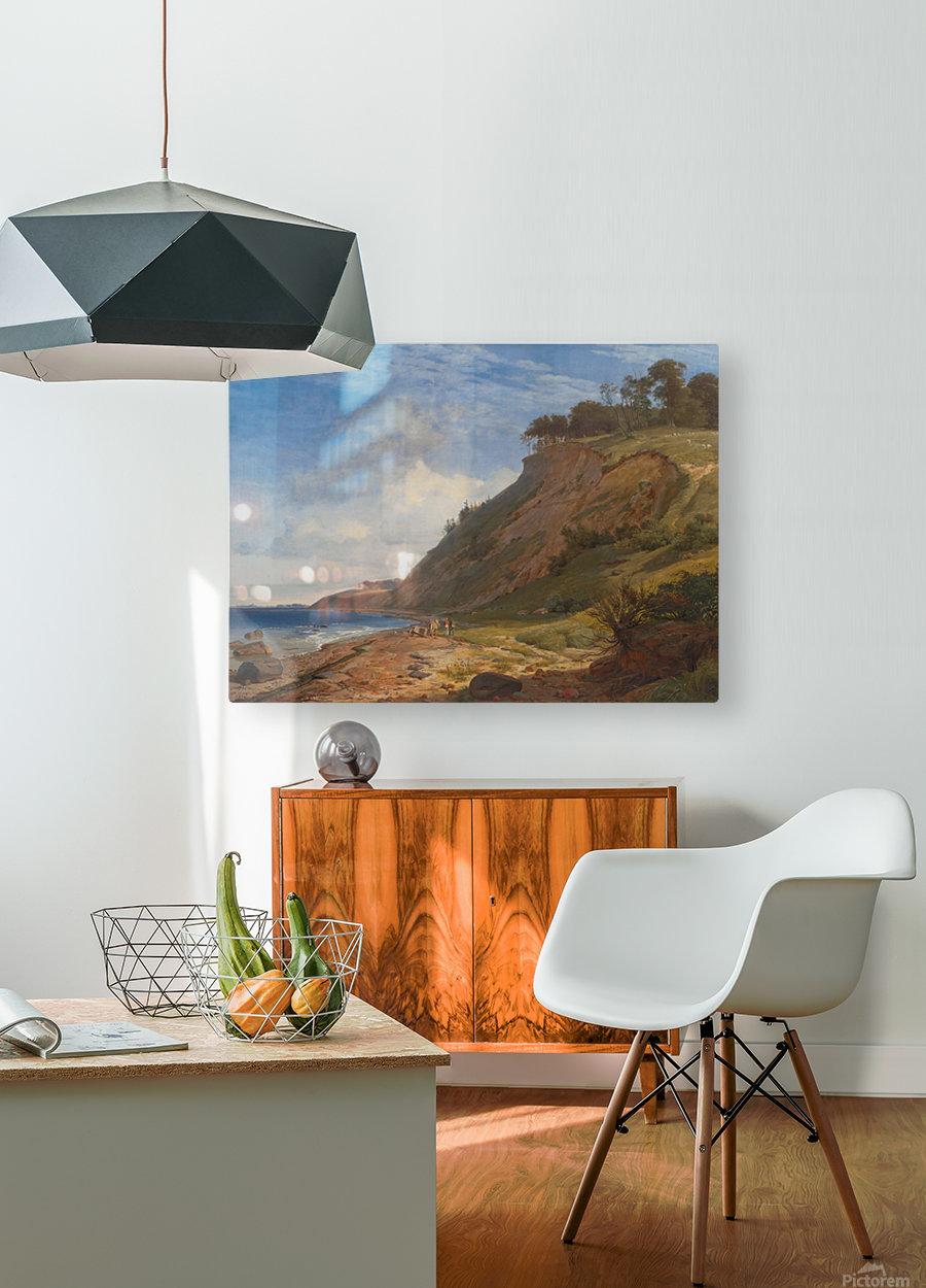 A Danish Coast  HD Metal print with Floating Frame on Back