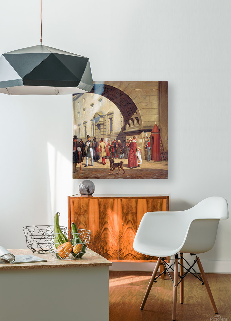 The prison of Copenhagen  HD Metal print with Floating Frame on Back