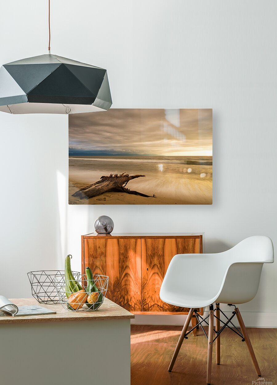 Limitless  HD Metal print with Floating Frame on Back