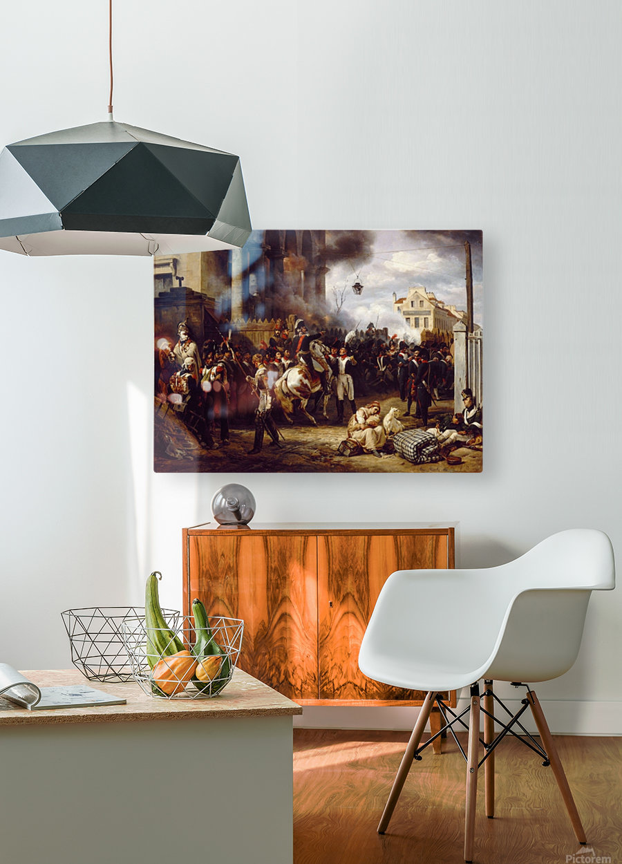 La Barriere de Clichy  HD Metal print with Floating Frame on Back