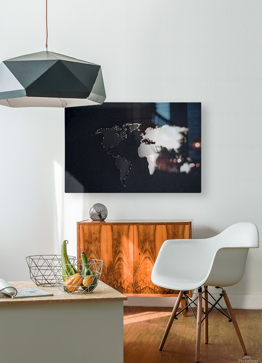 Dark Continent Briala  HD Metal print with Floating Frame on Back